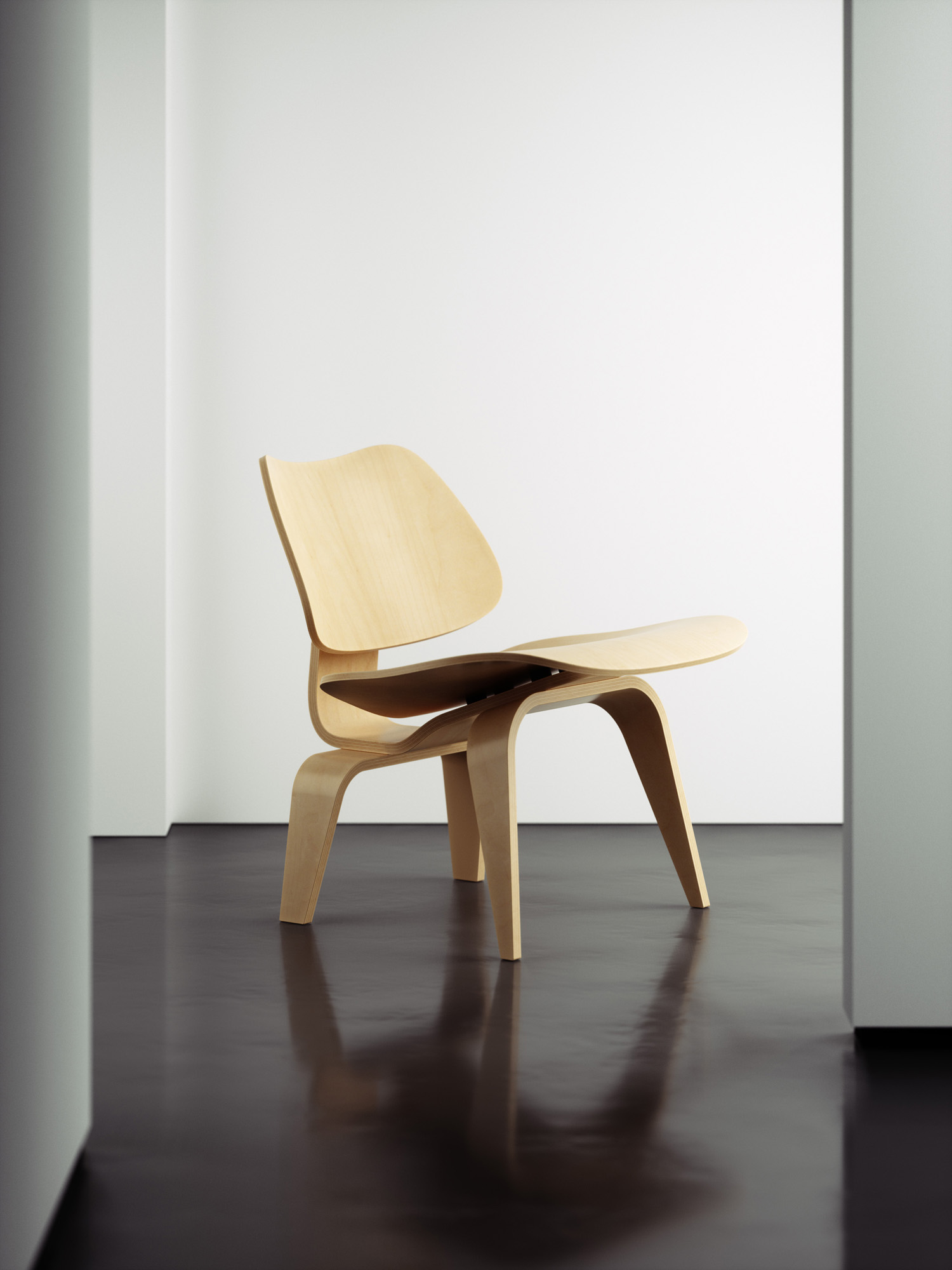 Eames Guest Chair Rendering