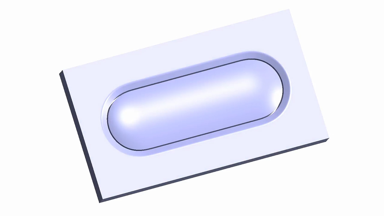 Solidworks Tutorial: Modelling a lozenge shaped button