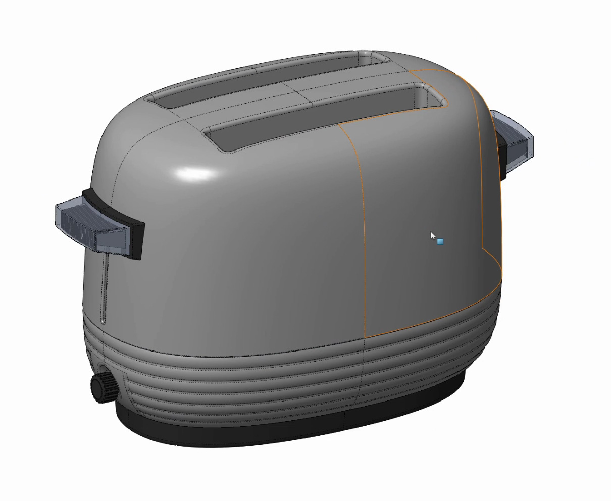 Solidworks: Modelling a Proctor Model 1481 Toaster